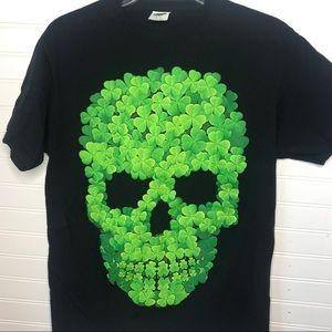 Men's lucky skull T-shirt Medium